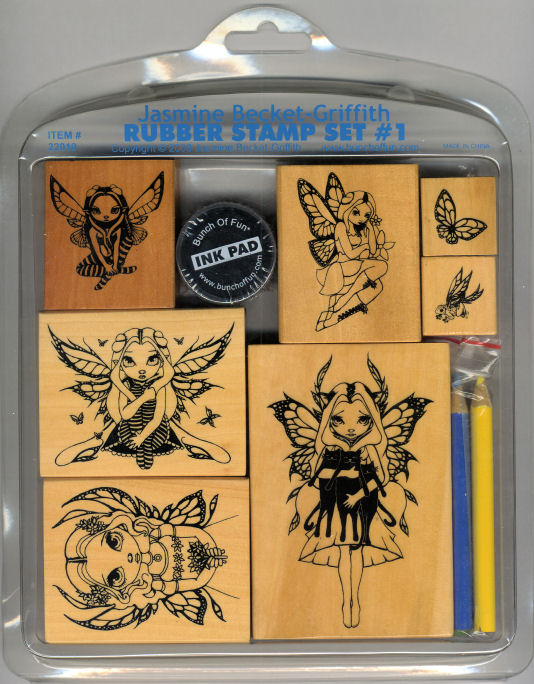 Jasmine Becket Rubber Stamps